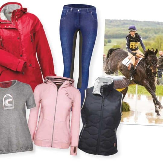 A lesson with Lissa Green and a Cavallo wardrobe prize in July Horse&Rider