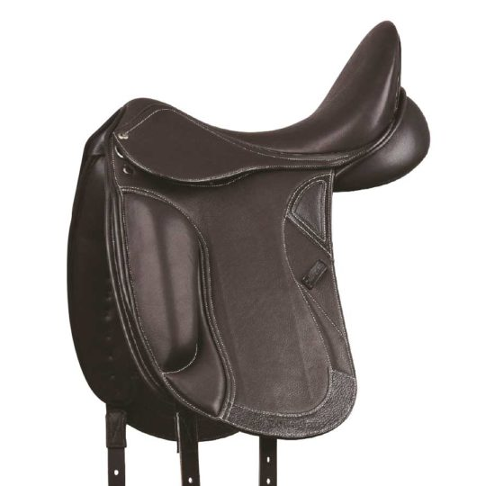 Collegiate Integrity Mono dressage saddle, black