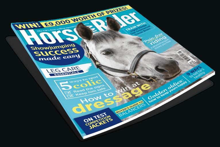 September Horse&Rider Magazine