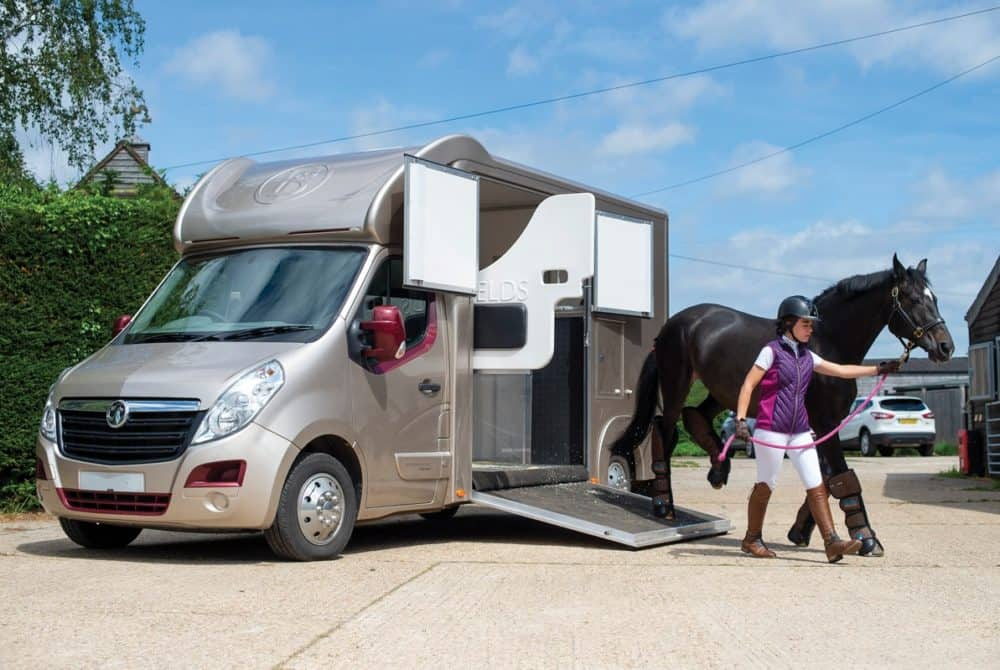 Loading and travelling your horse