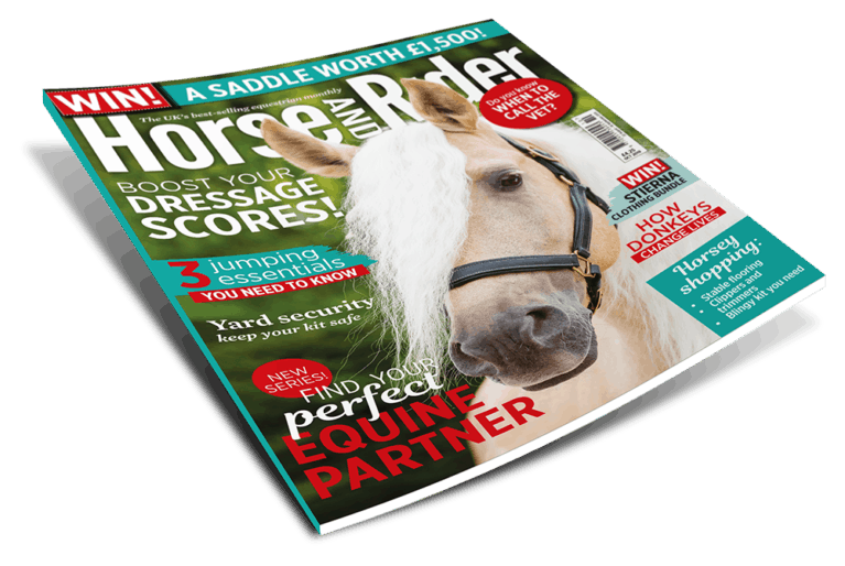 October Horse&Rider magazine