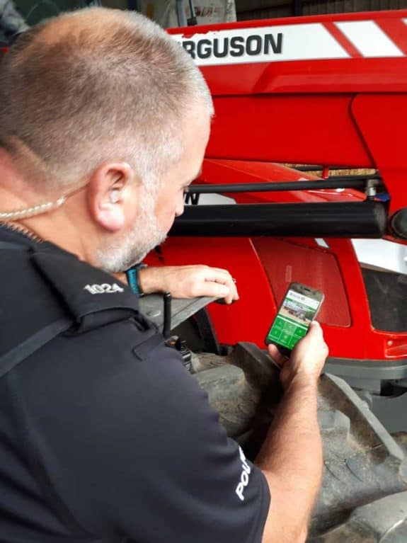 Rural crime app developed by Warwickshire police