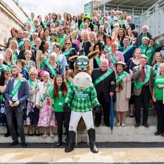 MacMillan charity Raceday