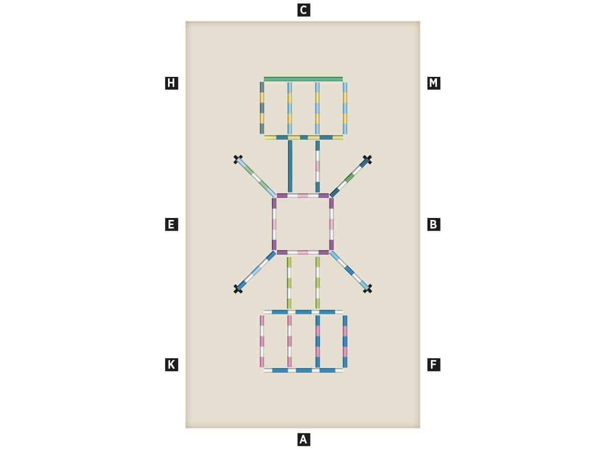 pole work set-up diagram
