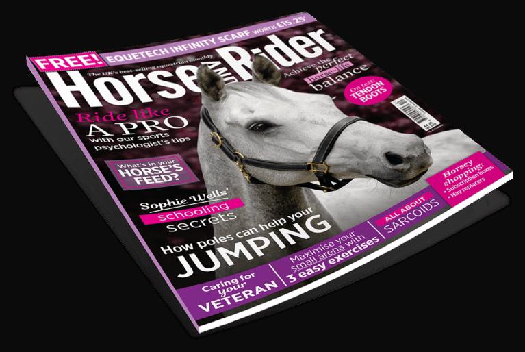 December Horse&Rider Magazine