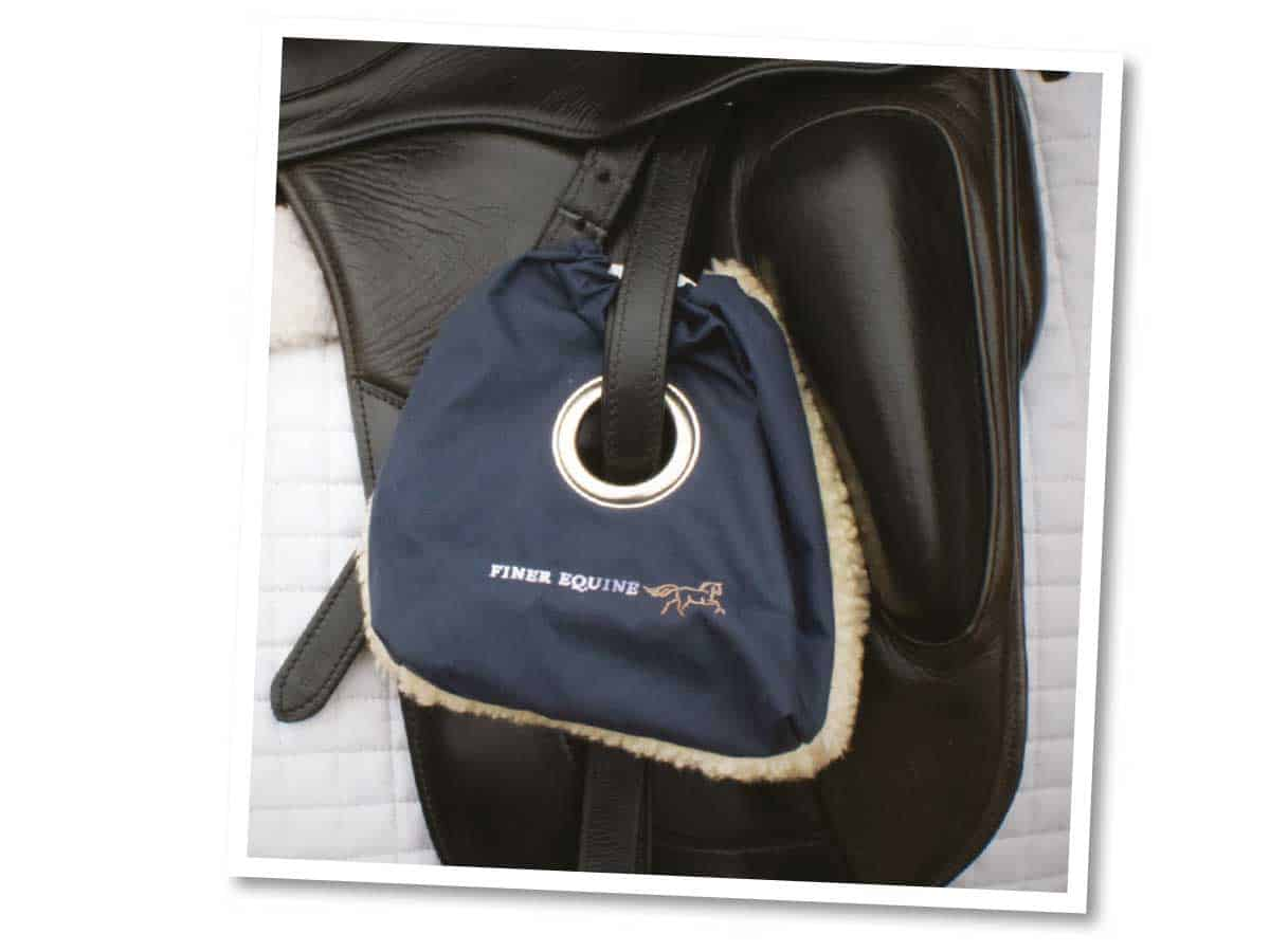Finer Equine stirrup covers