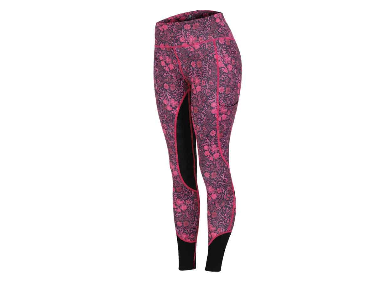 Scorching North Vivid Bouquet riding tights