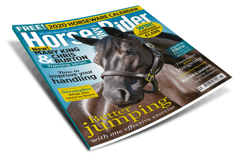 Horse&Rider Magazine, January issue
