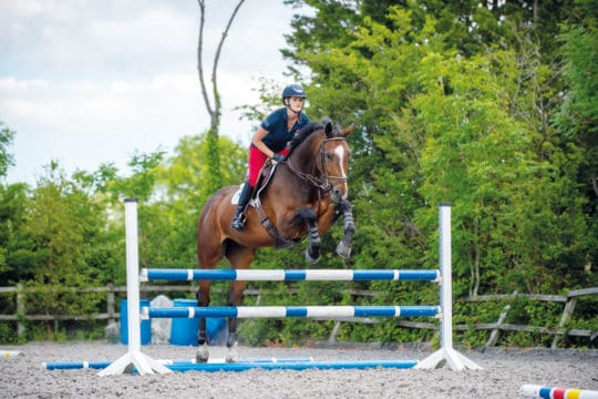Jumping exercise with Anna Power