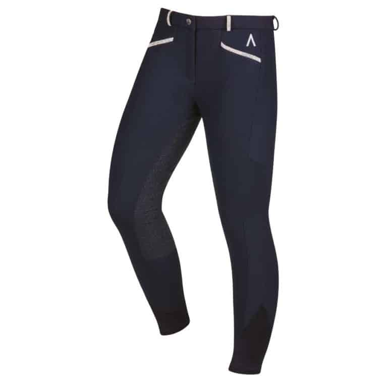 Dublin Black Linda softshell thermal breeches