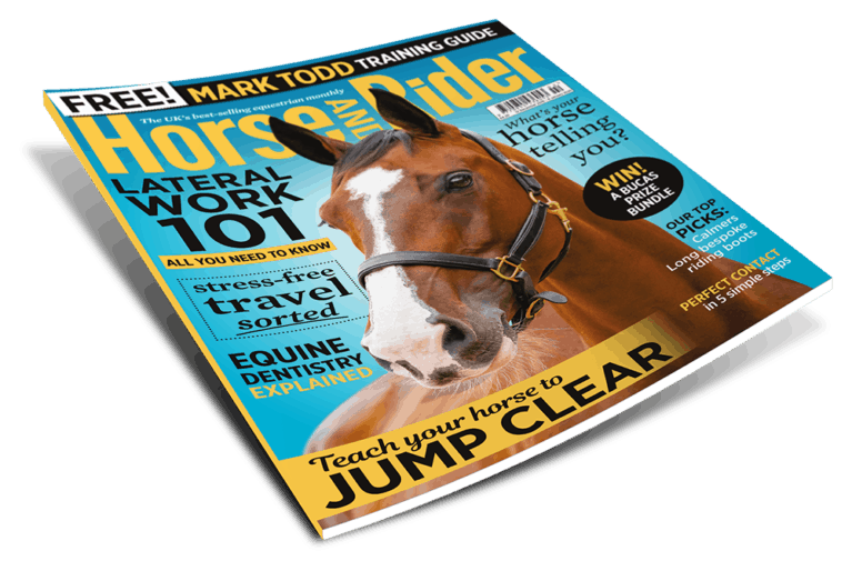 Horse&Rider magazine, February issue