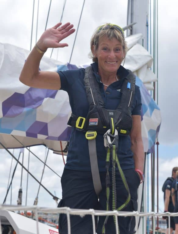 Clipper Round the World Yacht Race Mary King