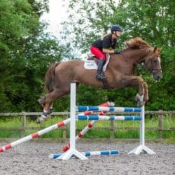 Anna Powers jumping exercise