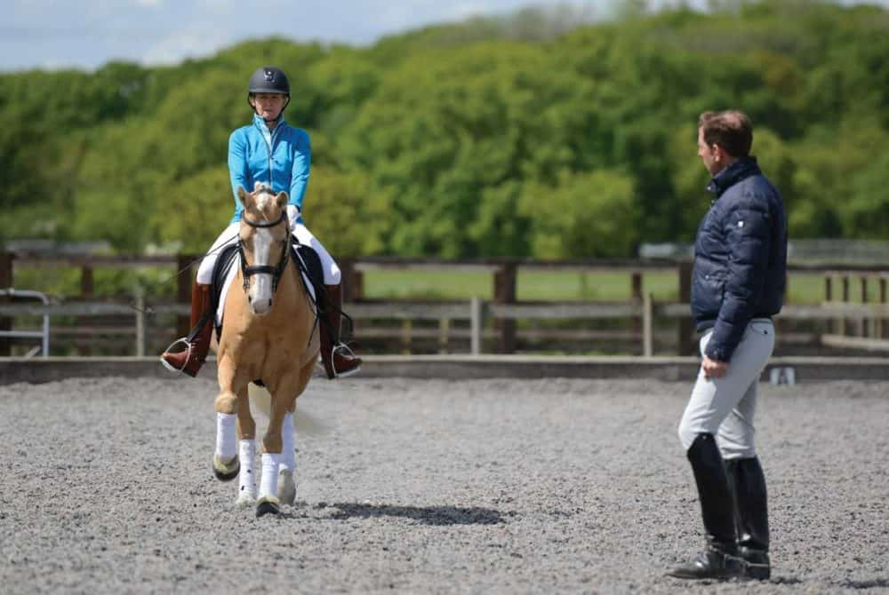 Rider and their instructor