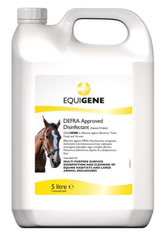 Disinfectant Equigene biosecurity