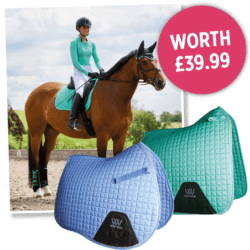 Horse&Rider subscription gift - Woof Wear saddle pad