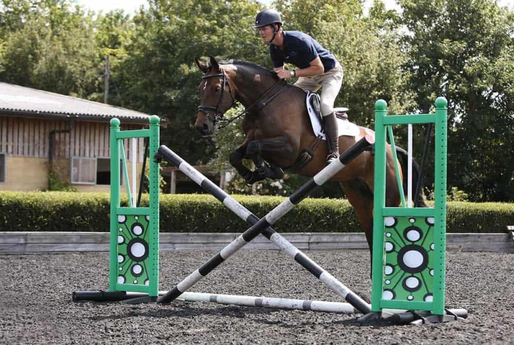 William Fox-Pitt show jumping