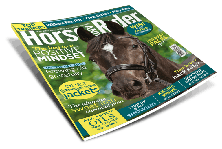 Horse&Rider Magazine April issue
