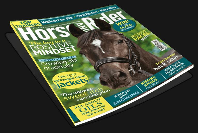 Horse&Rider Magazine April issue