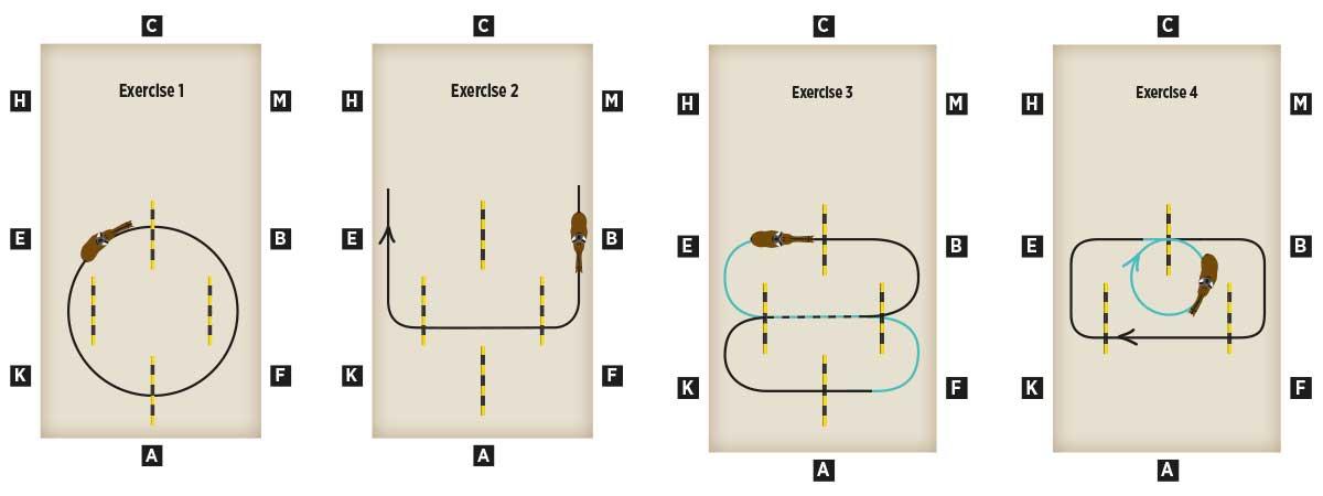 Tina Cook's polework exercises