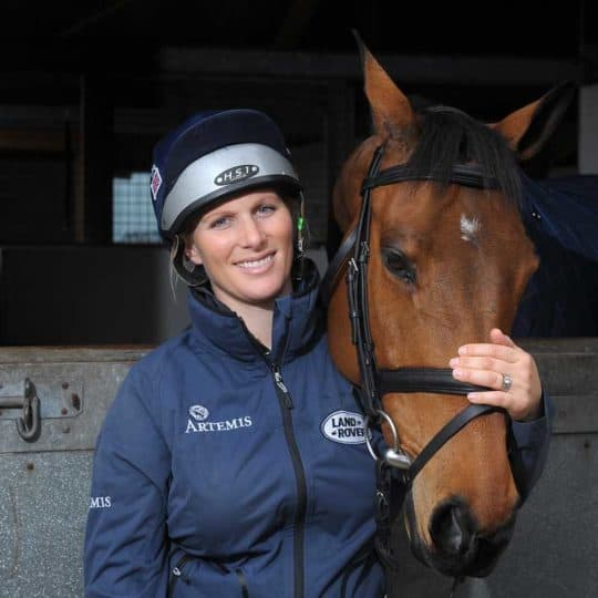 Zara Tindell takes part in Equestrian Relief