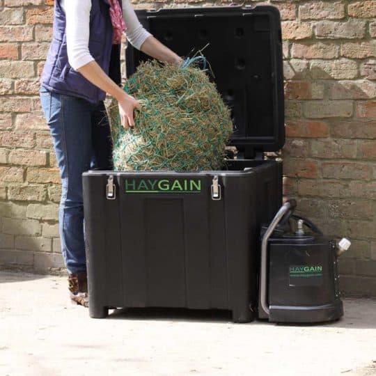 Haygain hay steamer