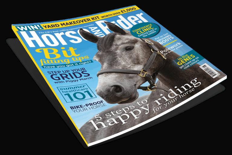 August Horse&Rider magazine