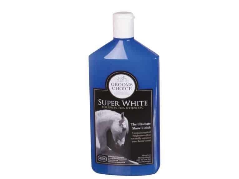 Animal Health Company Grooms Choice Super White shampoo