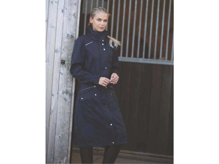 Equetech Venture waterproof trench coat