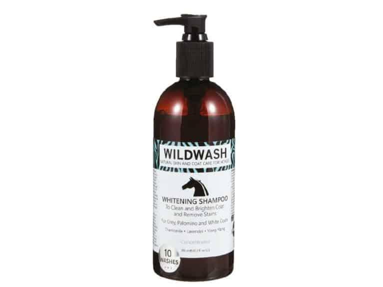 Wildwash Equine Whitening shampoo