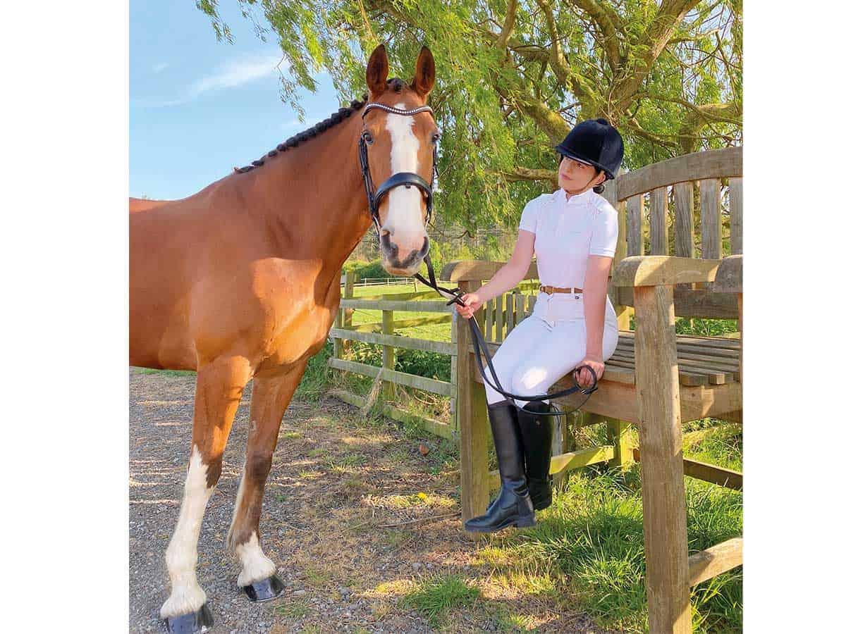 Blackfort Equestrian show shirt