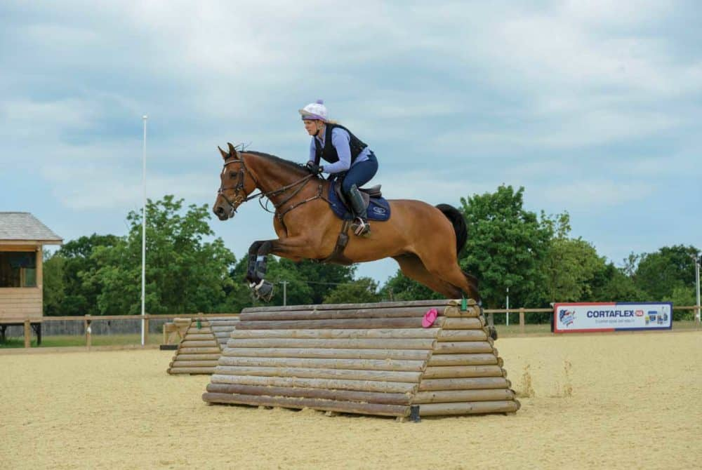 Arena eventing with Gemma Tattersall
