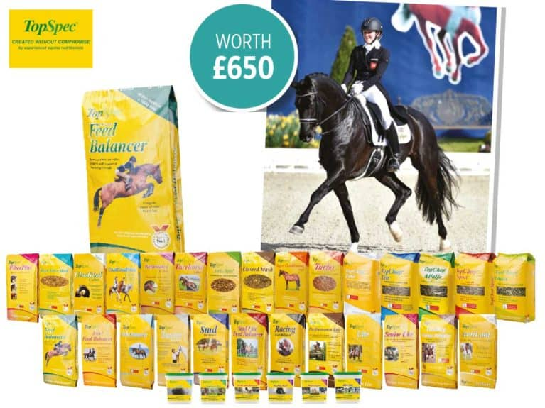 WIN a lesson with Hayley Watson-Greaves plus Topspec feed