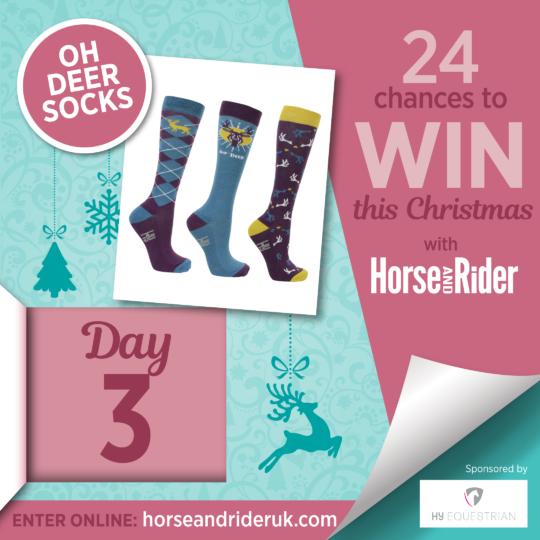 Hy Equestrian Oh Deer Socks