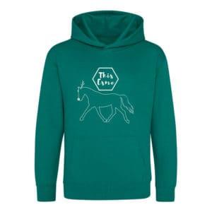 This Esme Joey festive hoodie