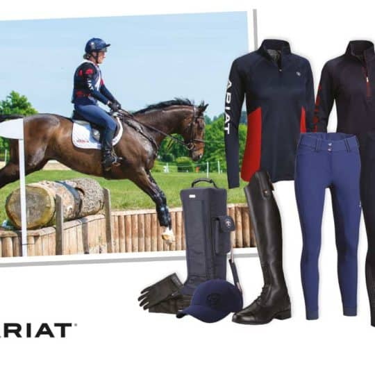 Win a lesson with Tina Cook and an Ariat outfit