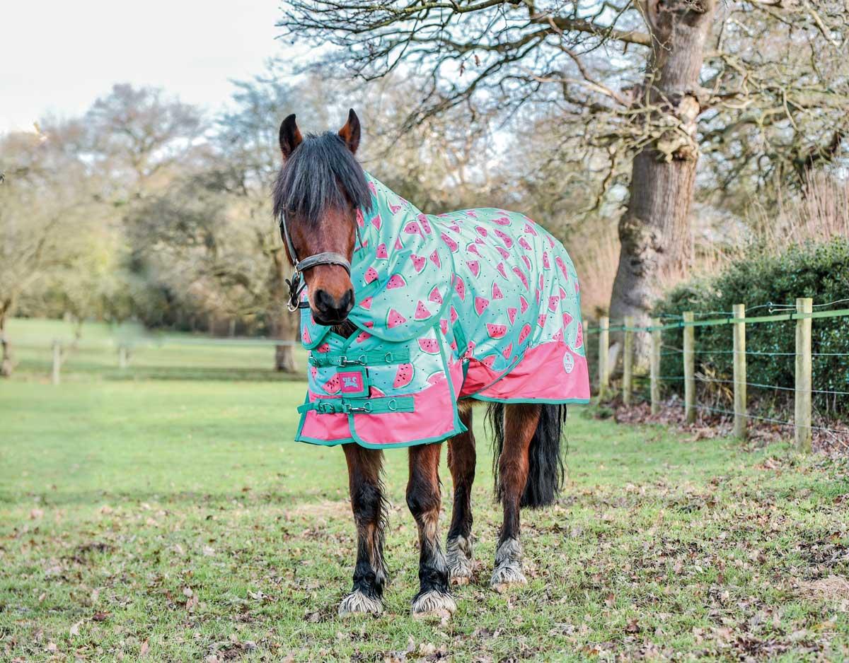 Ponyo Horsewear Juicy Watermelon turnout