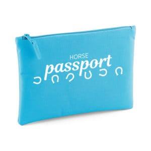 Horse passport storage wallet