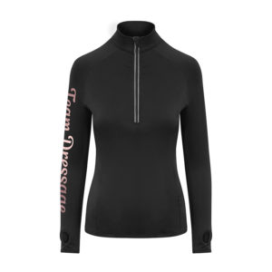 Team Dressage Black Base Layer