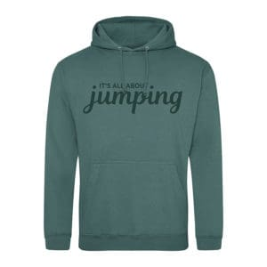 It's all about jumping hoodie