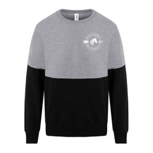 Team Equestrian Grey and Black Sweatshirt