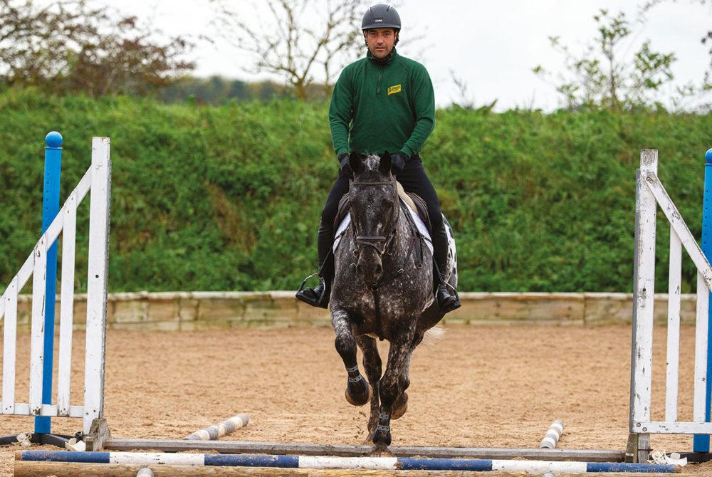Jay Halim jumping exercises