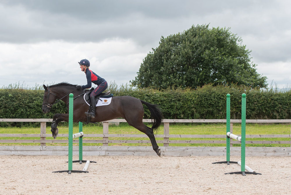 Nicola Wilson, cross-country exercises from your arena