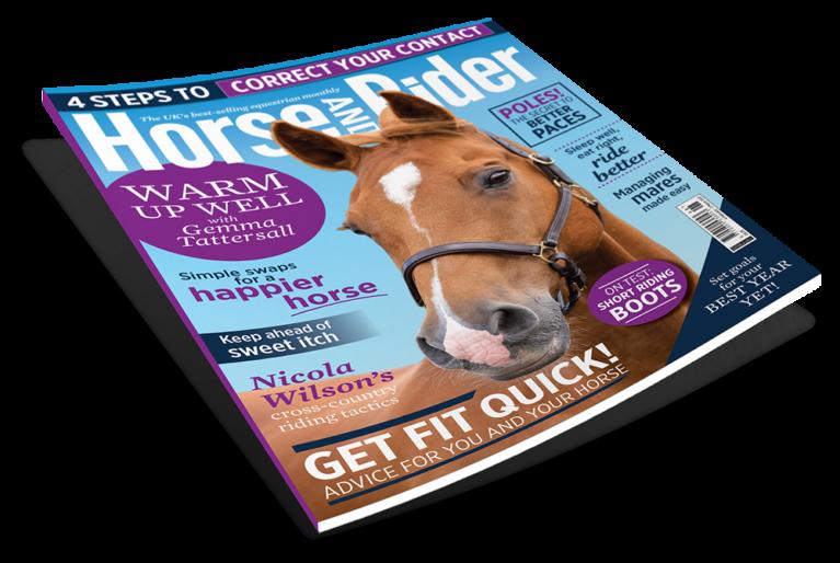 Spring 2021 Horse&Rider magazine