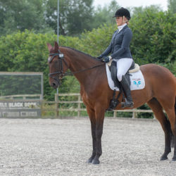A competing rider