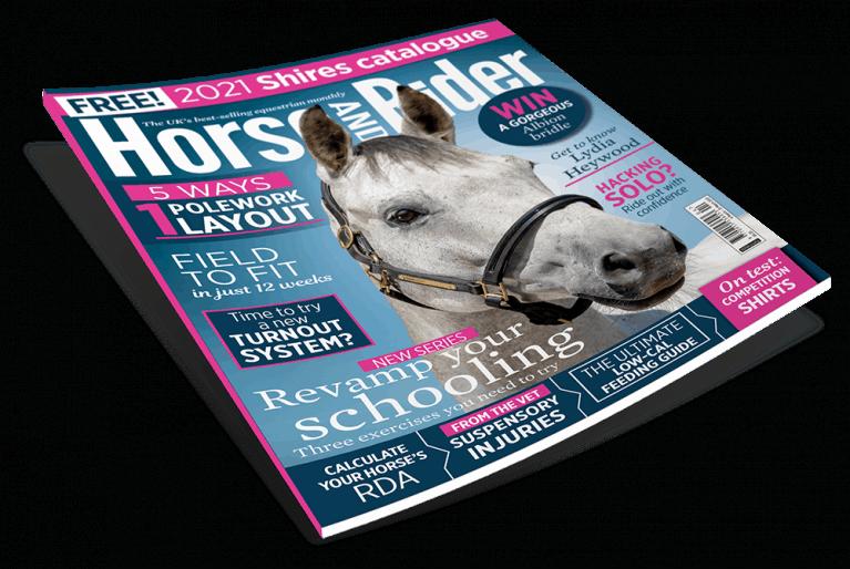 April 2021 Horse&Rider Magazine