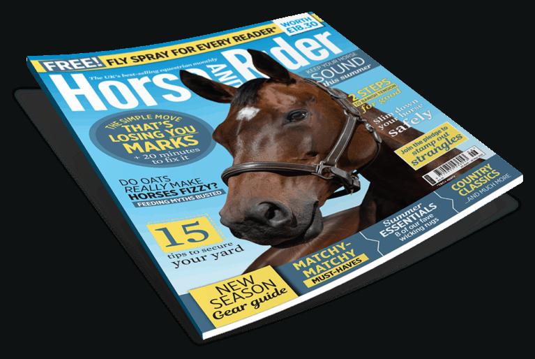 June Horse&Rider magazine