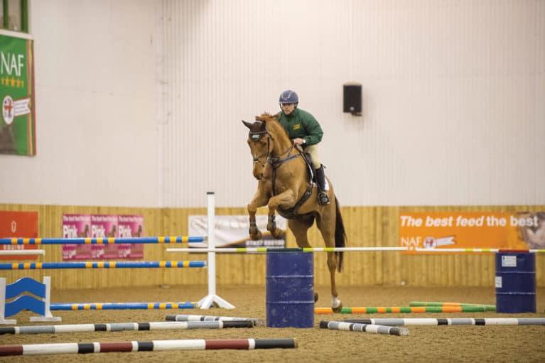 Ben Hobday Barrel jumping