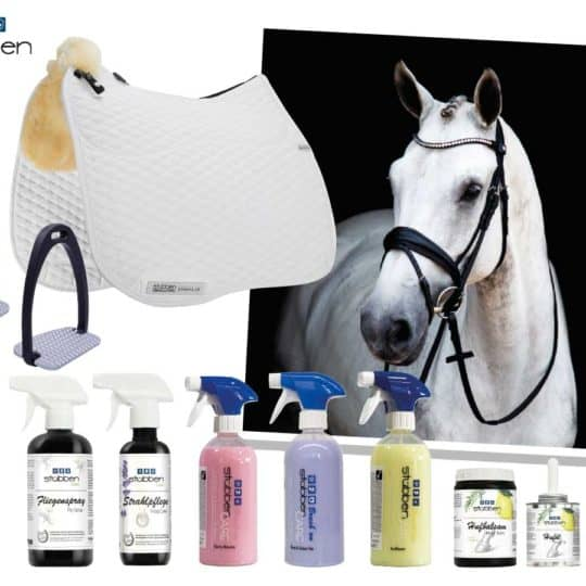 Tack and horsey care package from Stubben