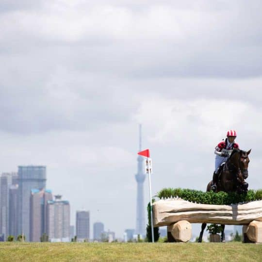 Tokyo test event - cross-country course